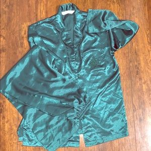 Victoria's Secret | Vintage Emerald Pajama art